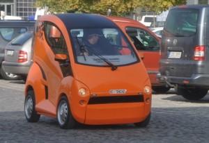 Elbee-vůz pro vozíčkáře